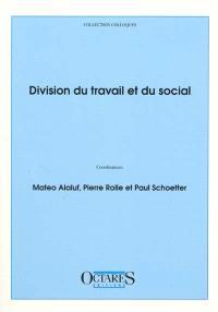 Division du travail et du social