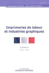Imprimeries de labeur et industries graphiques : étendue, IDCC 184