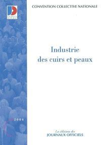 Industrie des cuirs et peaux : convention collective nationale du 6 octobre 1956, étendue par arrêté du 27 octobre 1961
