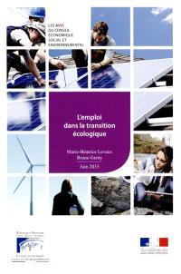 L'emploi dans la transition écologique