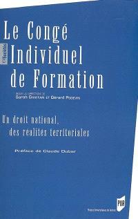 Le congé individuel de formation : un droit national, des réalités territoriales