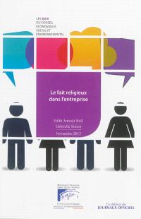 Le fait religieux dans l'entreprise : mandature 2010-2015, séance du mardi 12 novembre 2013