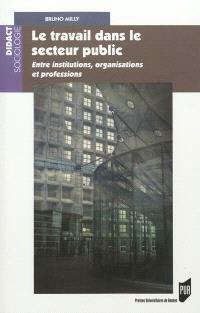 Le travail dans le secteur public : entre institutions, organisations et professions