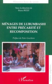 Ménages de Lubumbashi entre précarité et recomposition