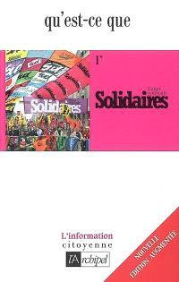 Qu'est-ce que l'union syndicale Solidaires ?