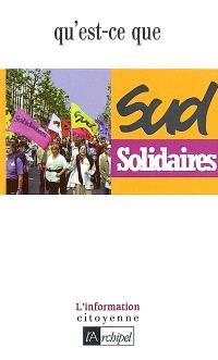 Qu'est-ce que SUD-Solidaires ?