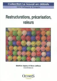 Restructurations, précarisation, valeurs