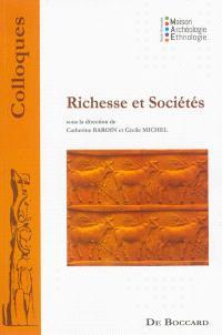 Richesse et sociétés