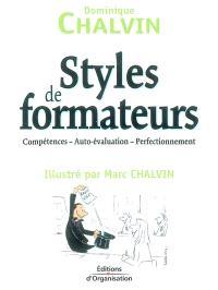 Styles de formateurs : compétences, auto-évaluation, perfectionnement