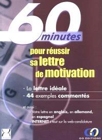60 minutes pour réussir sa lettre de motivation