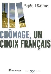 Chômage, un choix français