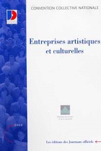 Entreprises artistiques et culturelles