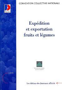 Expédition et exportation fruits et légumes