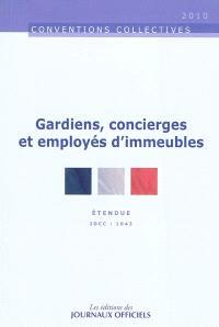 Gardiens, concierges et employés d'immeubles : convention collective nationale du 11 décembre 1979, étendue par arrêté du 15 avril 1981