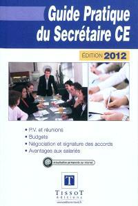 Guide pratique du secrétaire CE