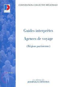 Guides interprètes : agences de voyage (région parisienne)