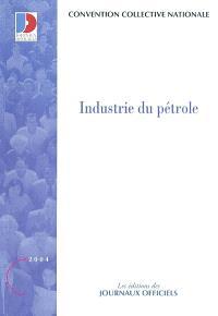 Industrie du pétrole : convention collective nationale du 3 septembre 1985 étendue par arrêté du 31 juillet 1986