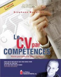 Le CV par compétences  : votre portefeuille pour l'emploi
