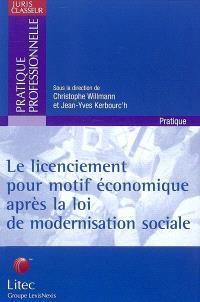 Le licenciement pour motif économique après la loi de la modernisation sociale 2002