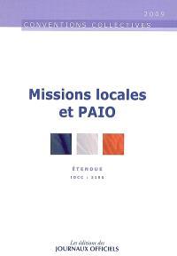 Missions locales et PAIO : IDCC 2190, convention collective nationale du 21 février 2001 (étendue par arrêté du 27 décembre 2001)