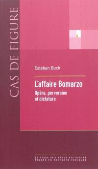 L'affaire Bomarzo : opéra, perversion et dictature