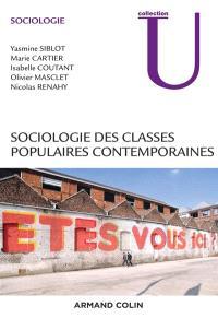 Sociologie des classes populaires contemporaines