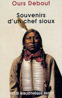 Souvenirs d'un chef sioux