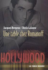 Une table chez Romanoff