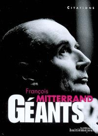 François Mitterrand : citations