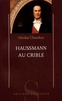 Haussmann au crible