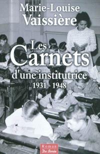 Les carnets de Marie-Louise Vaissière