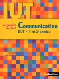 Communication : DUT, 1re et 2e années