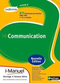 Activité 8, BTS communication