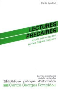 Lectures précaires : étude sociologique sur les faibles lecteurs