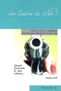 L'Orient-Express : chronique d'un magazine libanais des années 1990