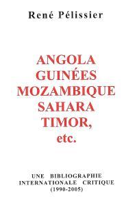Angola, Guinées, Mozambique, Sahara, Timor, etc : une bibliographie internationale critique (1990-2005)