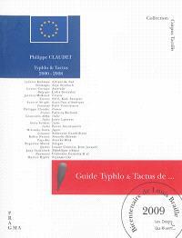 Guide Typhlo & Tactus de l'album tactile illustré : 2009