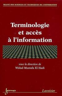 Terminologie et accès à l'information