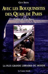 Avec les bouquinistes des quais de Paris