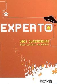 Experto : 1.001 classements pour devenir un expert