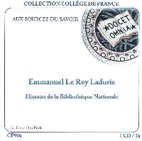 Histoire de la Bibliothèque nationale