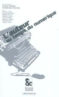 L'auteur au temps du numérique