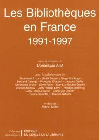 Les bibliothèques en France, 1991-1997