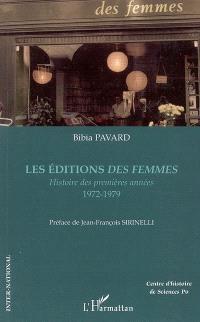 Les Editions des Femmes : histoire des premières années, 1972-1979