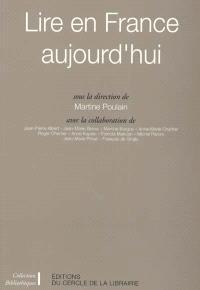 Lire en France aujourd'hui
