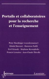 Portails et collaboratoires pour la recherche et l'enseignement