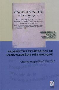 Prospectus et mémoires de l'Encyclopédie méthodique. Volume 1, Prospectus général