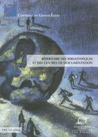 Répertoire des bibliothèques et des centres de documentation