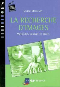La recherche d'images : méthodes, sources et droits