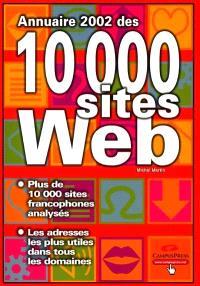Annuaire 2002 des 10.000 sites Web